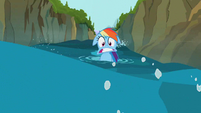 Rainbow Dash weird mouth S02E08