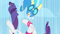 Rarity accidentally smacks Misty Fly S1E16.png