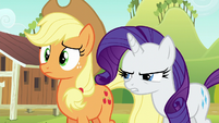 Rarity getting even more frustrated S6E10