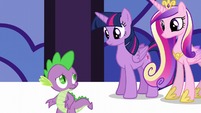 "Spike ""instead of getting into the spirit of things"" S5E10"