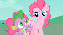 Spike and Pinkie S1E26