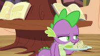 Spike sighing S4E15