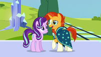 Sunburst --like I'd ever lose touch with my oldest friend-- S6E2
