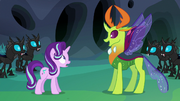 Thorax happy with his new form S6E26