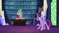 Twilight --come on, Spike!-- S5E22