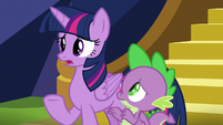 "Twilight Sparkle ""sometimes I worry"" S8E24"