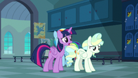 Twilight Sparkle --now you're both in trouble-- S6E24