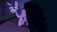 Twilight se aproxima do Pônei das Sombras T4E03