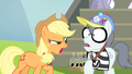 "Applejack ""What are you doin' here?"" S4E20.png"