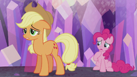 Applejack -hoped we could be one big happy family- S5E20