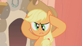 Applejack cross eyed S1E8.png