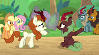 Autumn Blaze interpreting -baby- S8E23