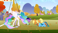 Celestia greeting herself S1E13.png