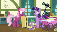 Cheerilee suggests Gusty the Great S7E3