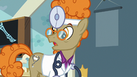 "Dr. Horse ""except, of course, its symptoms"" S7E20"