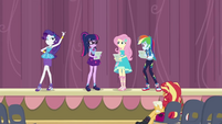 Equestria Girls rehearsing the school play CYOE4
