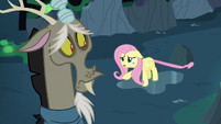 Fluttershy Changeling --you shouldn't rescue any of us-- S6E26