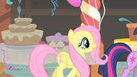Fluttershy follows Twilight S1E22