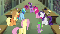 Mane 6 and Spike -there must be a connection!- S4E25
