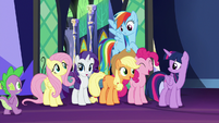 Mane Six decide to have a spa day S7E2