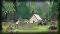 Old Spice and Dove's campsite EG4