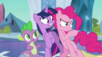 Pinkie Pie 'my cover has been blown' S03E01