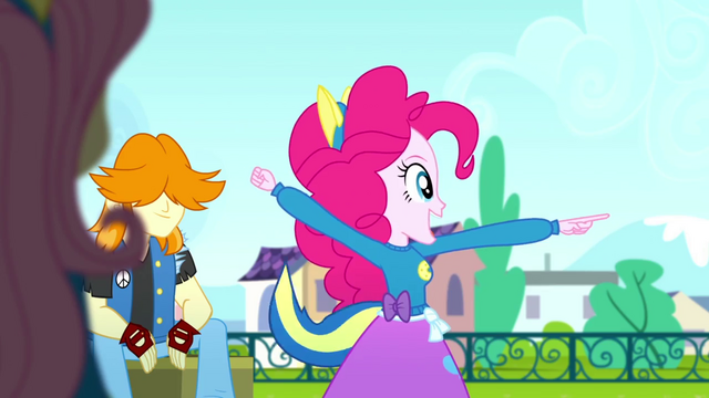 File:Pinkie Pie cheering for the Wondercolts SS4.png