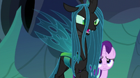 Queen Chrysalis --the only thing Thorax has found-- S6E26