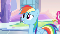 Rainbow Dash host the games S3E12