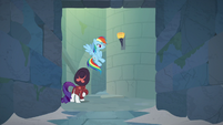Rainbow and Rarity in the catacombs S9E4