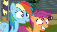 Rainbow impressed by Rolling Thunder S8E20