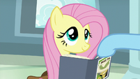 Rainbow lowers Fluttershy's book again S9E21