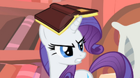 "Rarity ""cleaning up this mess"" S1E08"