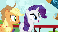 Rarity -We've tried every kind of studying- S4E21