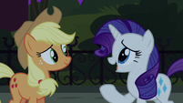 Rarity -it wouldn't have fixed the real problem- S5E16