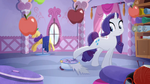 Rarity Crushes Opalescence Tail Rainbow Roadtrip
