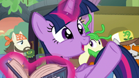 "Twilight Sparkle ""he's really thriving!"" S8E21"