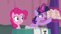 """Twilight Sparkle """"sleeping on the table"""" S9E16"""