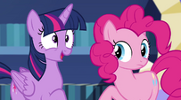 Twilight Sparkle epiphany gasp EG2