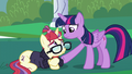 Twilight consoling Moon Dancer S5E12.png