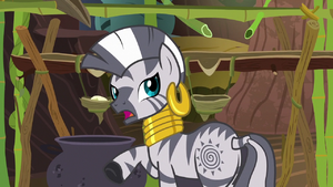 """Zecora """"there are tales I could tell"""" S7E19"""