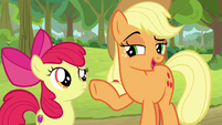 "Applejack ""settin' traps is one thing"" S9E10"