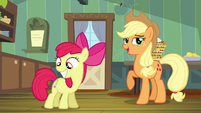 Applejack -I expect you want to run off- S5E4
