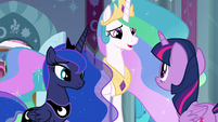 "Celestia ""the time you need to prepare"" S9E2"
