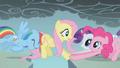 Fluttershy's friends help her along S1E07.png