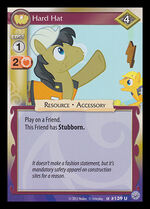 Hard Hat card MLP CCG