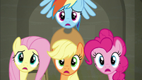 Main four --just like I thought Rarity would want!-- S6E9