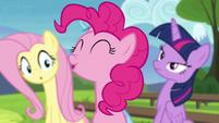 Pinkie -I give it three woohoo's!- S4E21