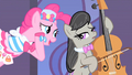 Pinkie Pie Making Song Request To Octavia S1E26.png