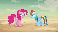 "Rainbow ""I have to make sure she believes that"" S7E18"